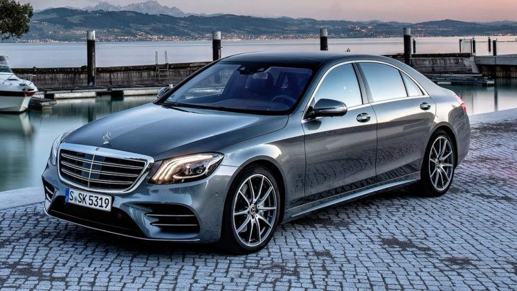 Auta klasy luksusowej - Mercedes Klasy S