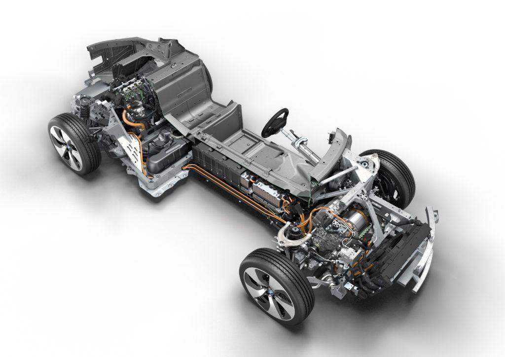 Hybrydowy napęd BMW i8