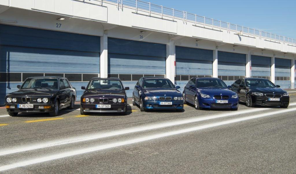 BMW M5 - historia modelu