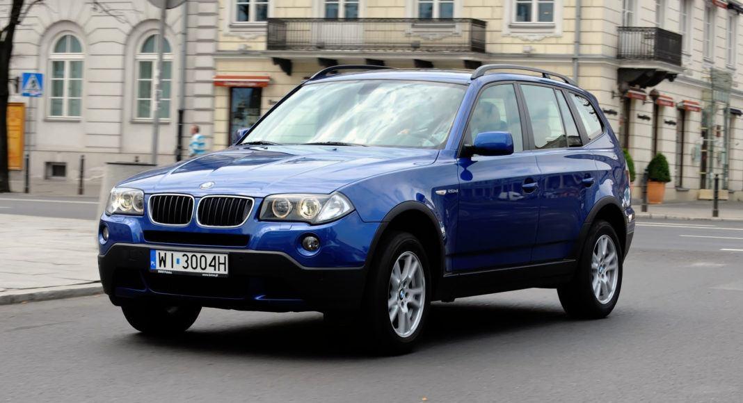 BMW X3 E83 - dynamiczne