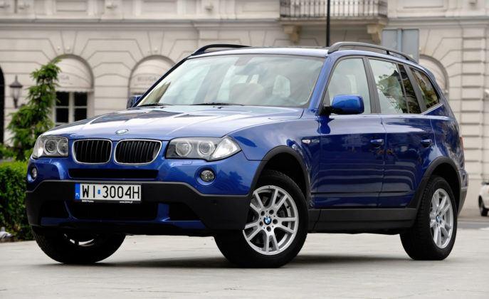 BMW X3 E83 - przód