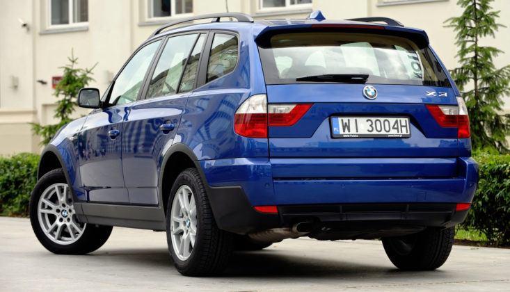 BMW X3 E83 - tył