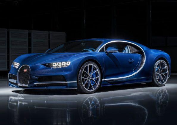 Bugatti Chiron - przód