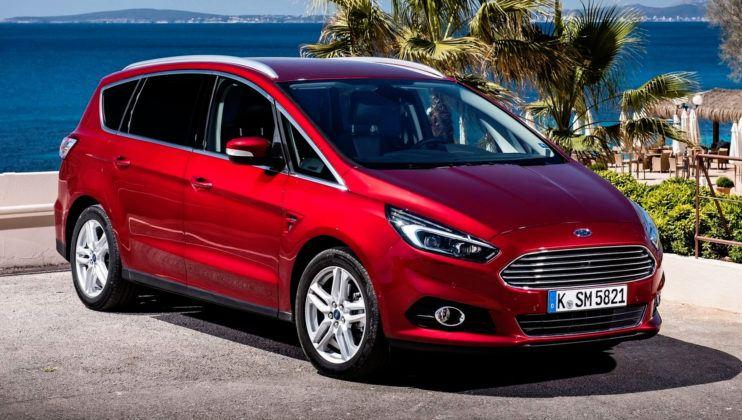 Duże minivany - Ford S-Max