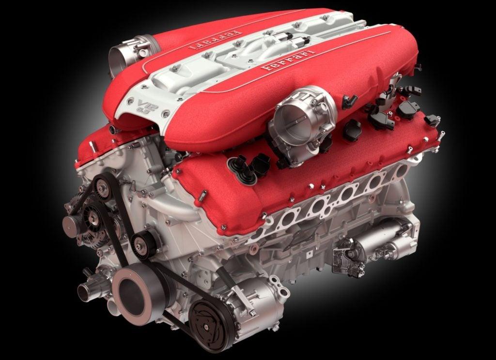 6.5 V12 z Ferrari 812 Superfast