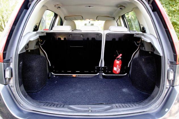 Używany Ford Fusion - bagażnik