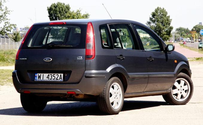 Używany Ford Fusion - tył