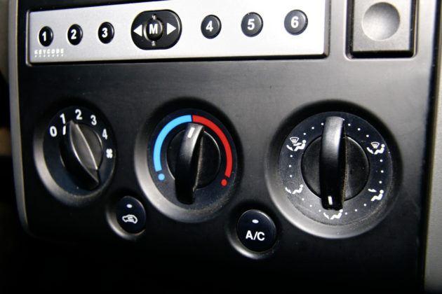 Używany Ford Fusion - panel wentylacji
