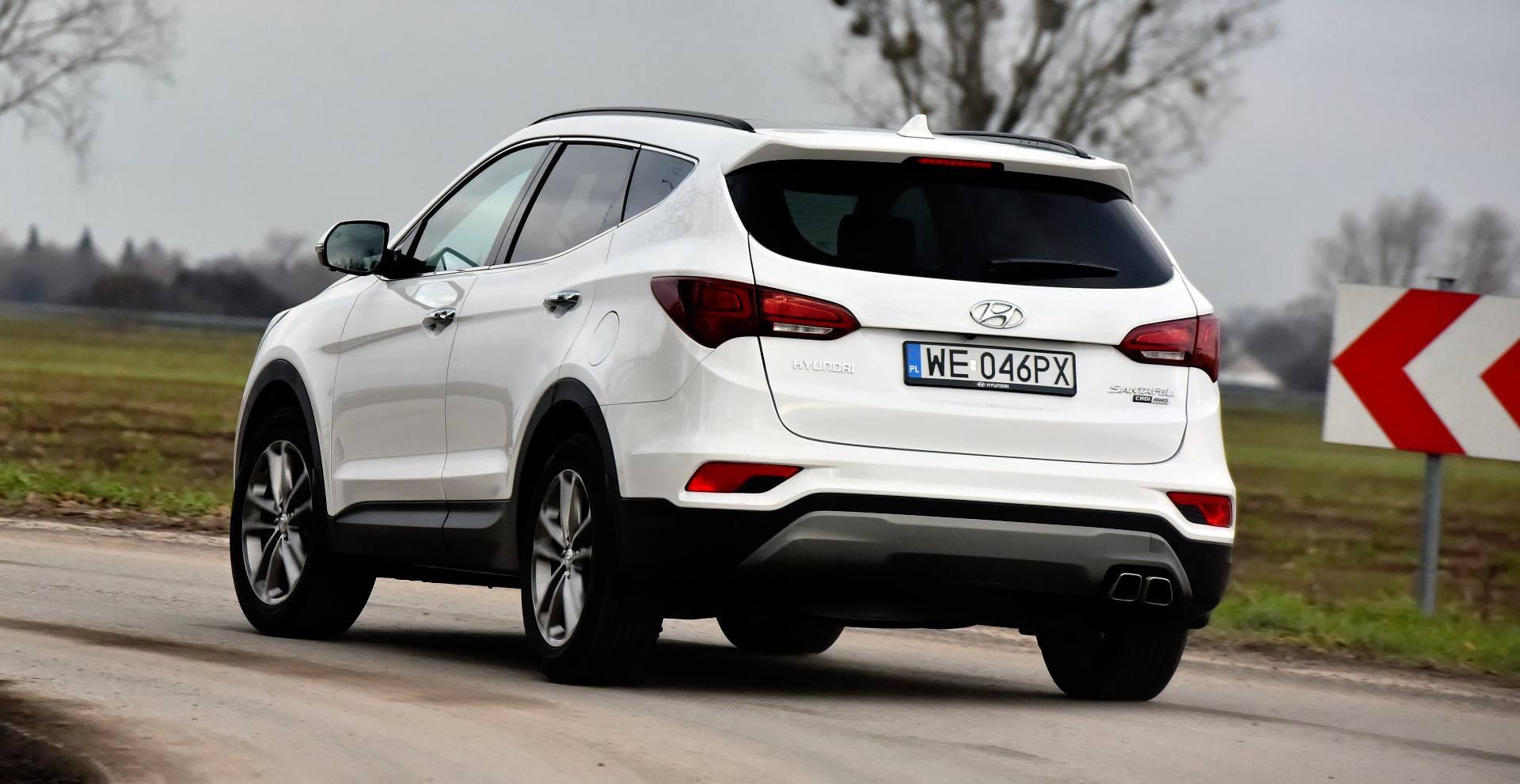 Hyundai Santa Fe - dynamiczne