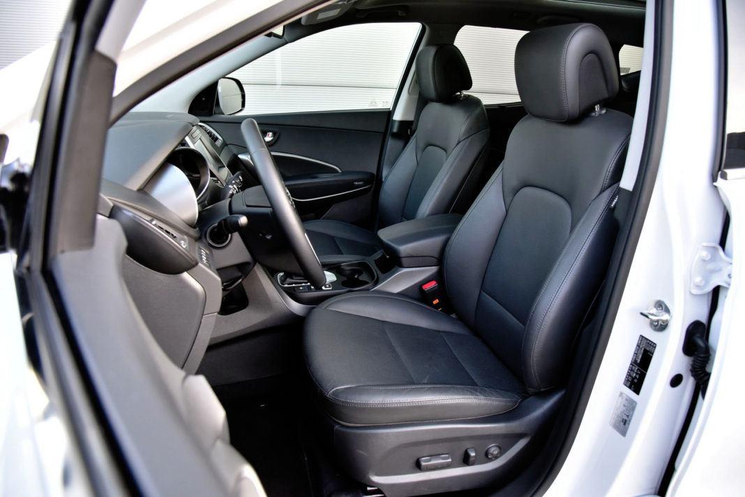 Hyundai Santa Fe - fotel kierowcy