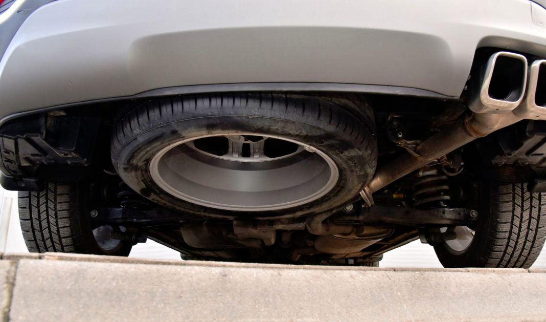 Hyundai Santa Fe - koło zapasowe