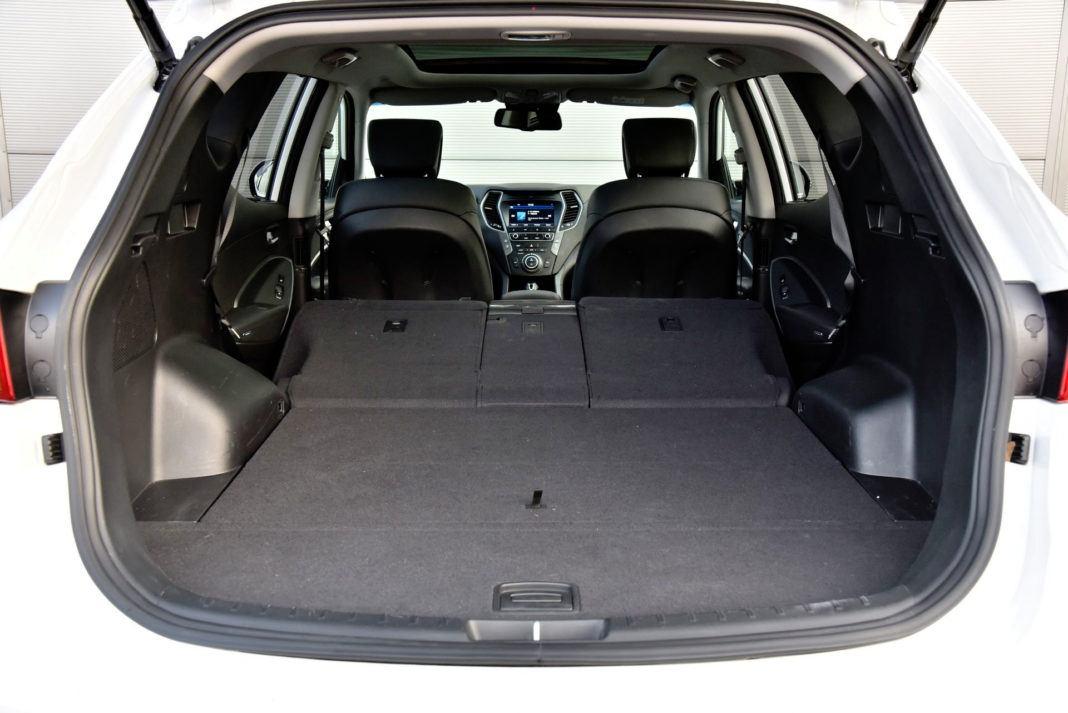 Hyundai Santa Fe - powiększony bagażnik