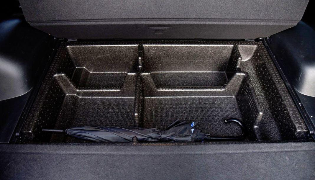 Hyundai Santa Fe - schowki