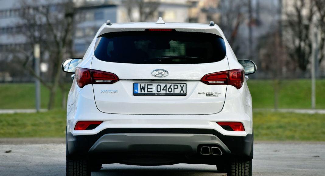 Hyundai Santa Fe - tył