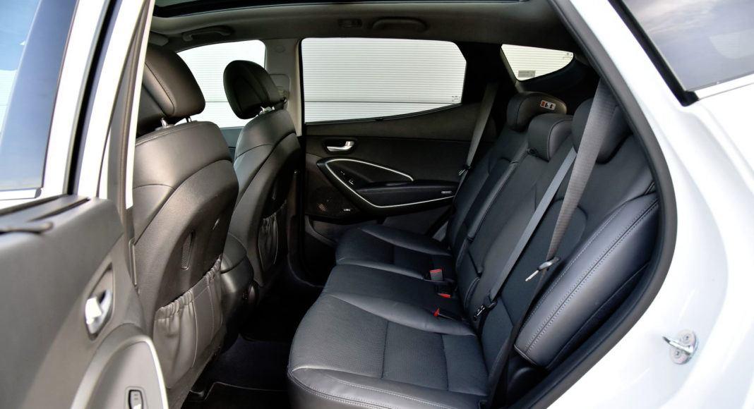 Hyundai Santa Fe - tylna kanapa