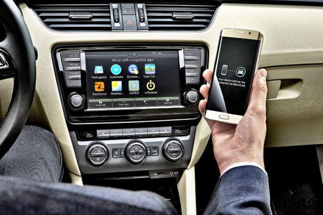 Skoda - integracja ze smartfonem