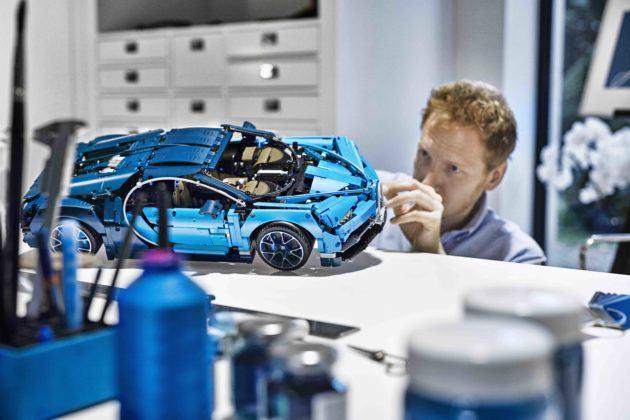 Lego Technic Bugatti Chiron - kontrola jakości