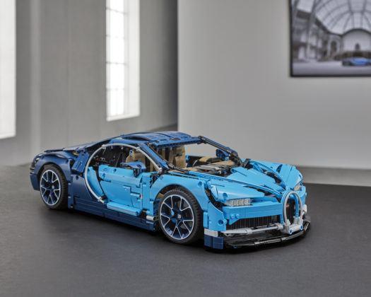 Lego Technic Bugatti Chiron - przód