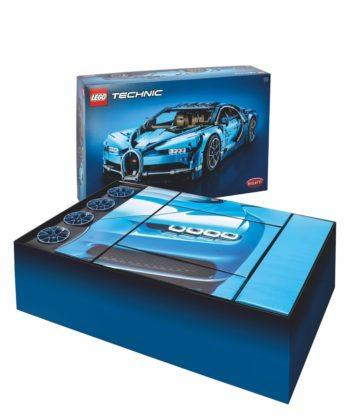 Lego Technic Bugatti Chiron - pudełko
