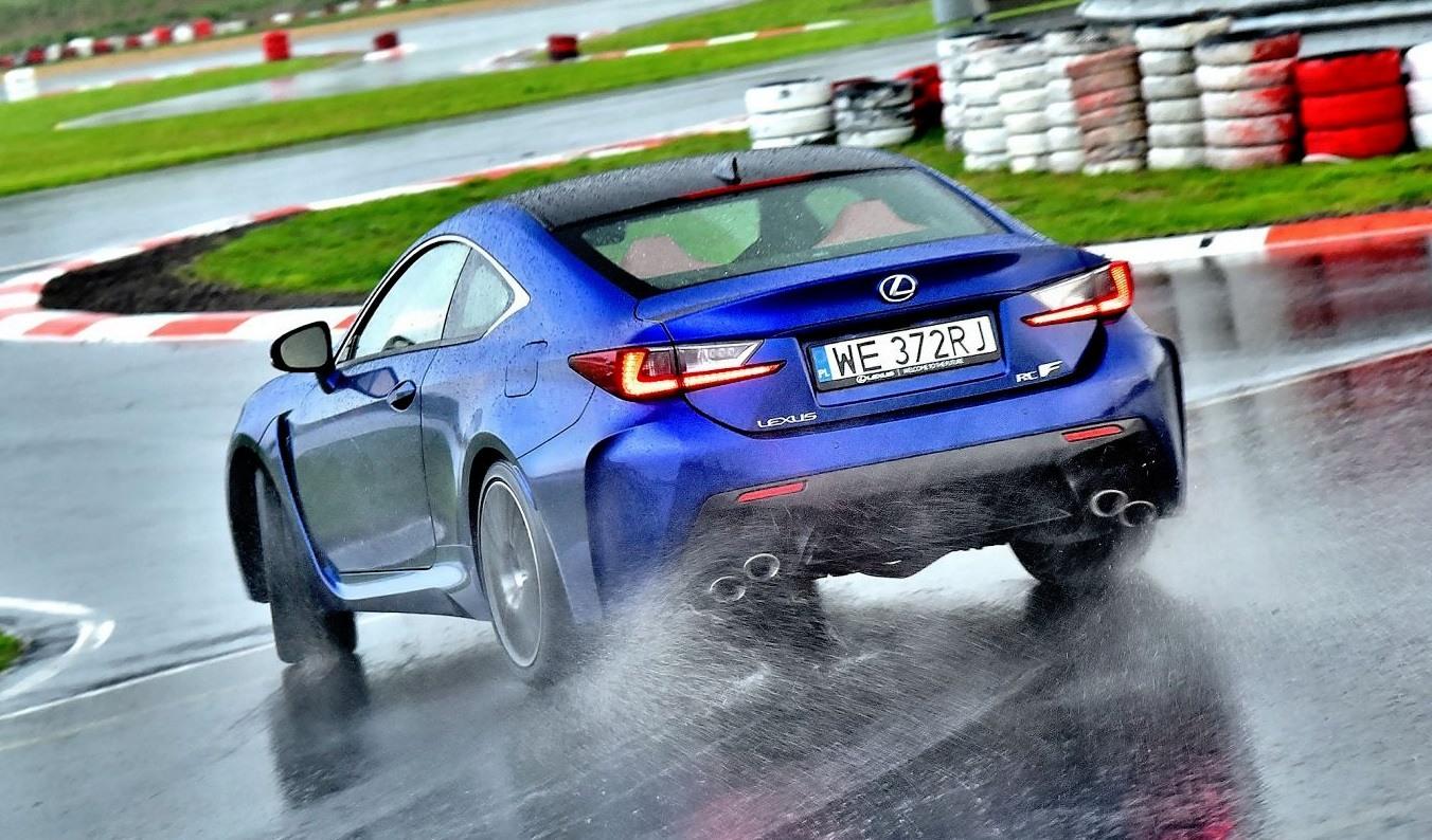 Lexus RC F - dynamiczne