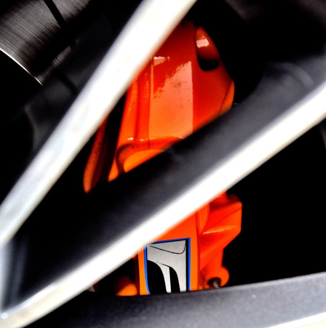 Lexus RC F - zacisk hamulcowy