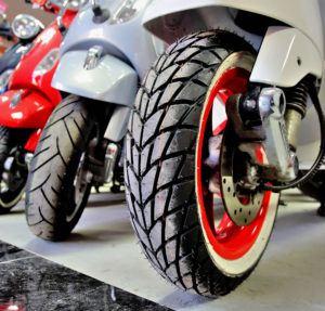 Motocykle kat. B - opony