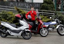 Motocykle na kat. B - otwierające