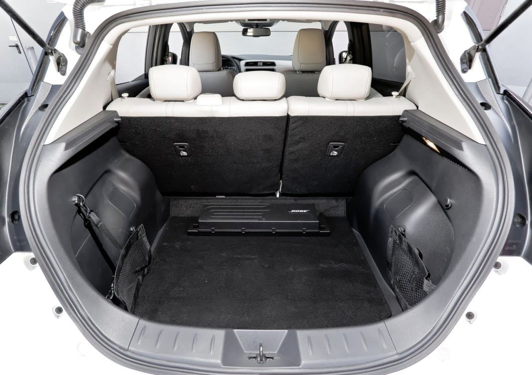 Nissan Leaf - bagażnik