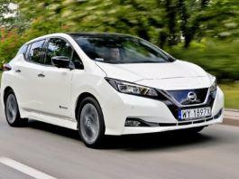 Nissan Leaf - dynamiczne