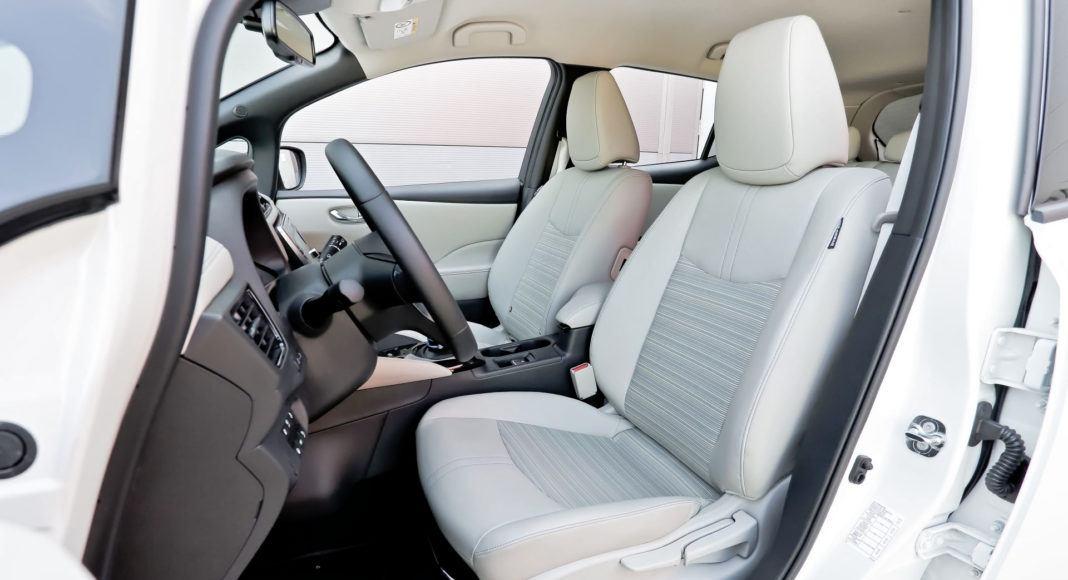 Nissan Leaf - fotel kierowcy