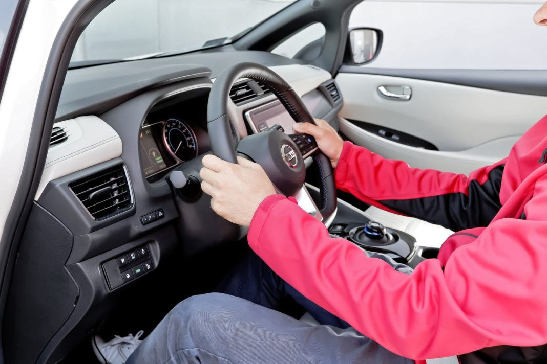 Nissan Leaf - kierownica