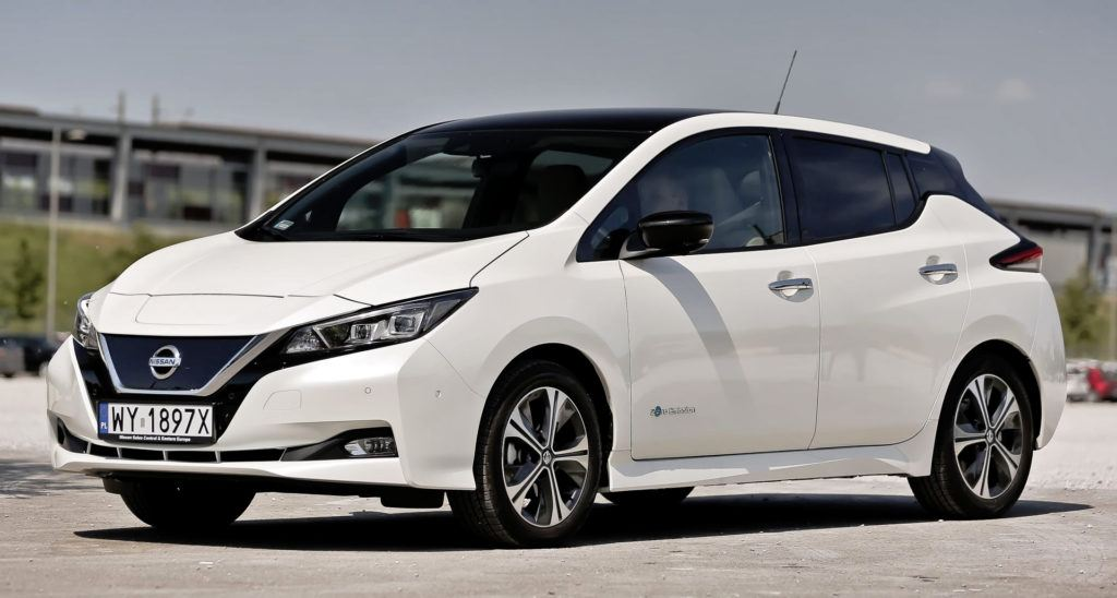 Nissan Leaf - przód