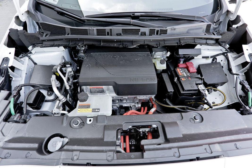 Nissan Leaf - silnik