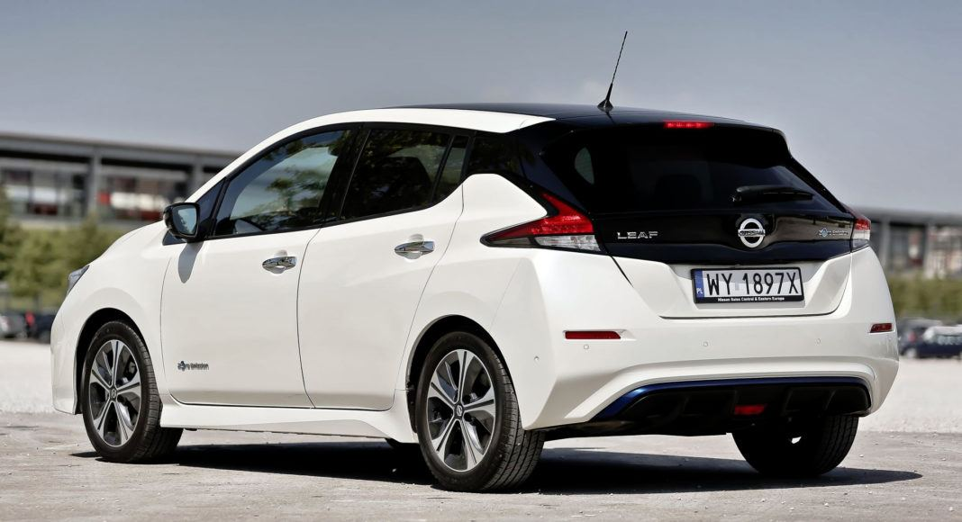 Nissan Leaf - tył
