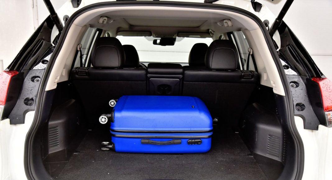 Nissan X-Trail - bagażnik