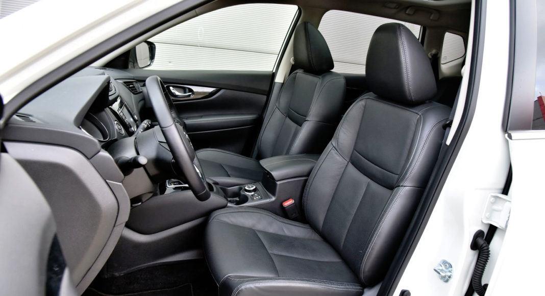 Nissan X-Trail - fotel kierowcy