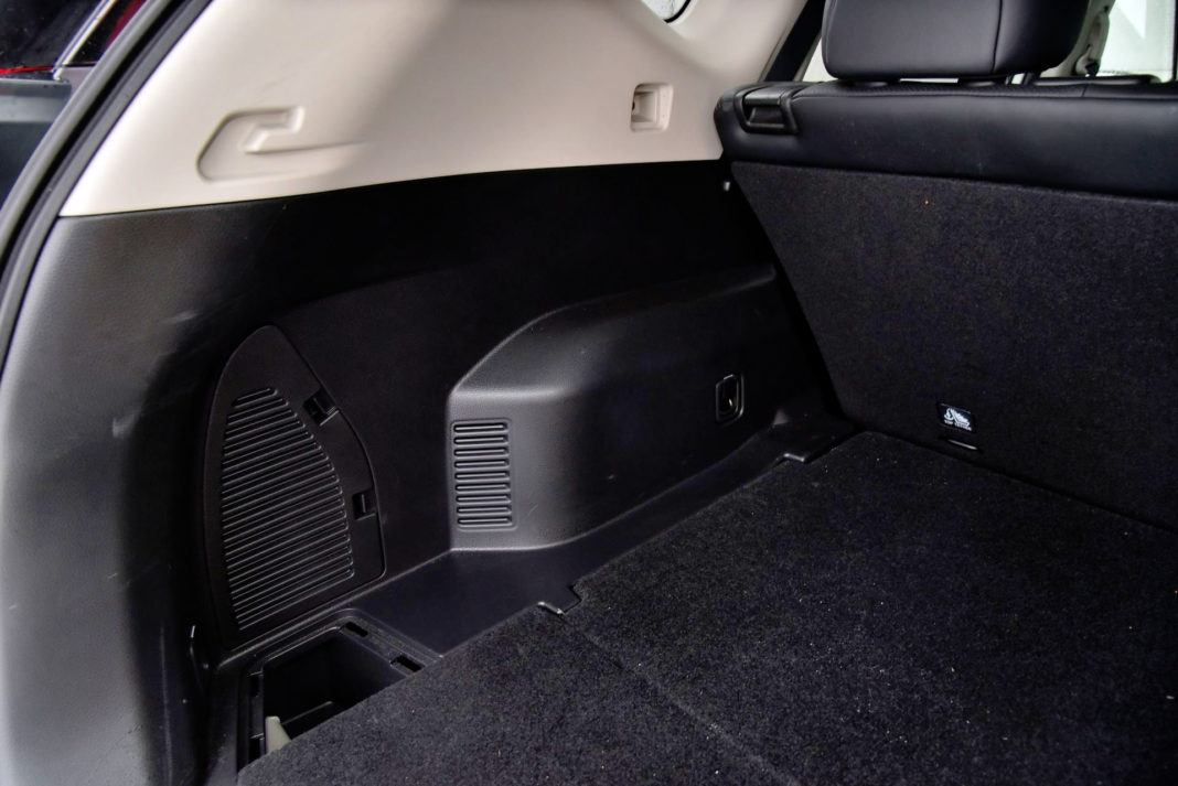 Nissan X-Trail - wnętrze bagażnika
