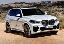 Nowe BMW X5 - otwierające