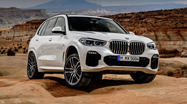 Nowe BMW X5 - przód