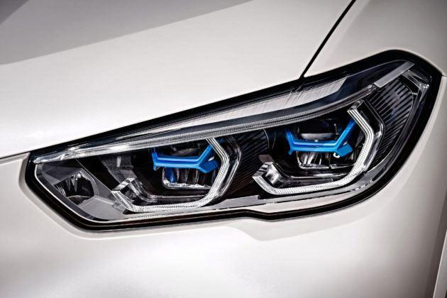 Nowe BMW X5 - reflektor przedni