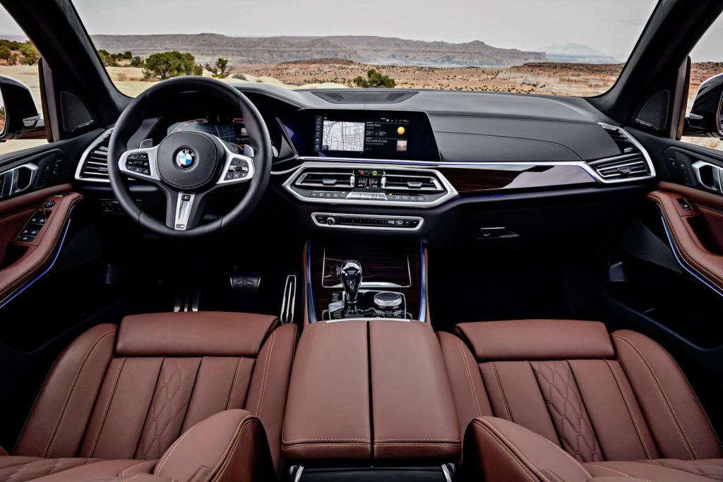 Nowe BMW X5 - deska rozdzielcza