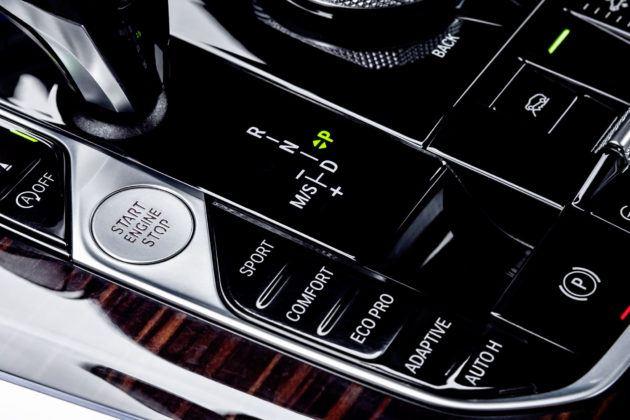 Nowe BMW X5 - tryby jazdy