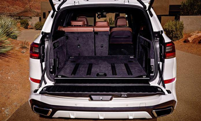 Nowe BMW X5 - bagażnik