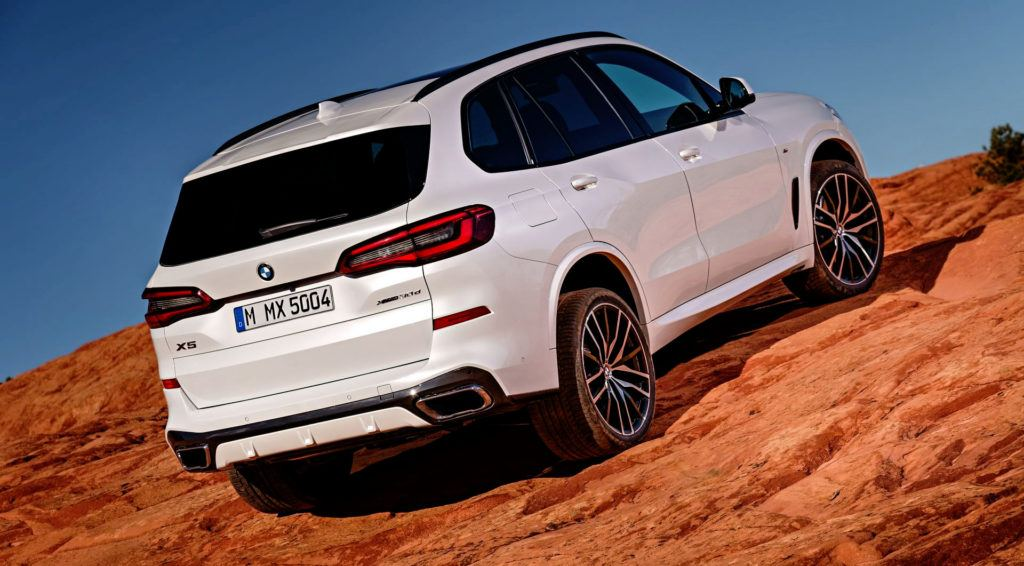 Nowe BMW X5 - off-road