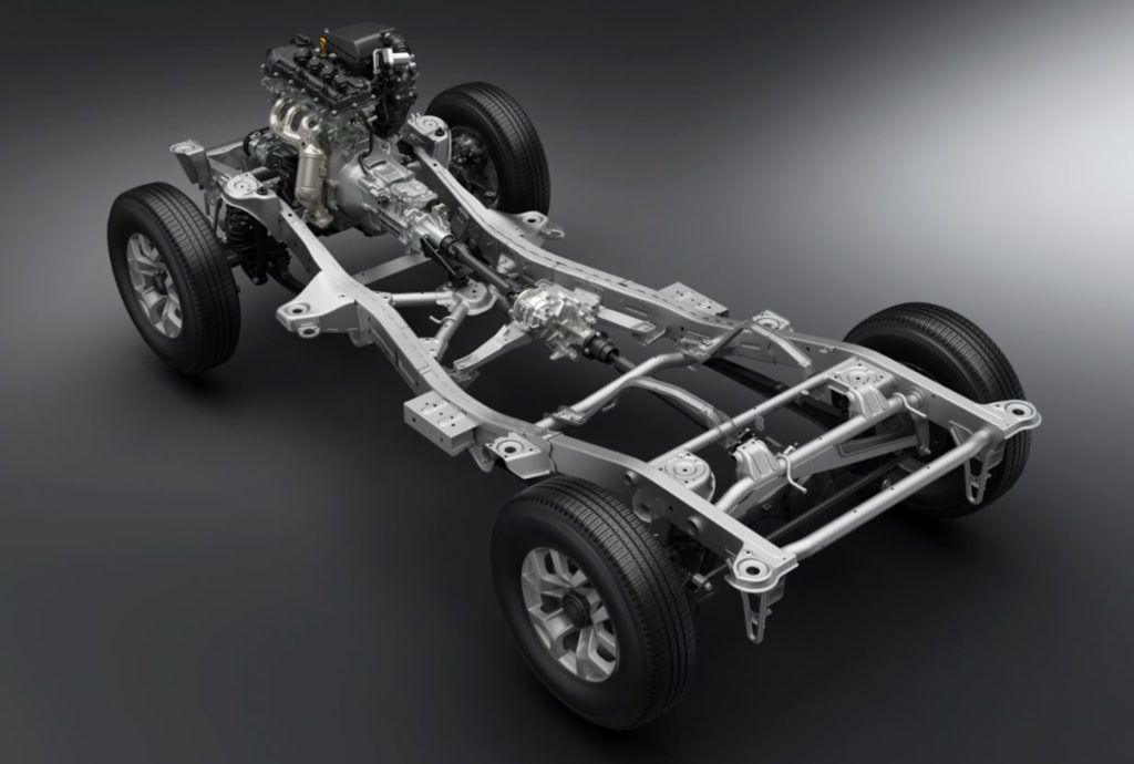 Nowe Suzuki Jimny - rama