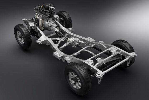 Nowe Suzuki Jimny rama