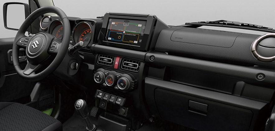Nowe Suzuki Jimny - wnetrze