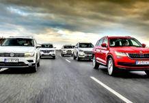Porównanie 5 SUVów - otwierające