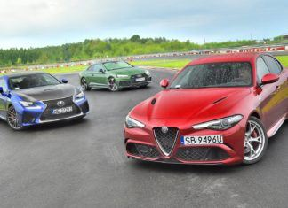 Alfa Romeo Giulia Quadrifoglio, Audi RS 5, Lexus RC F - PORÓWNANIE