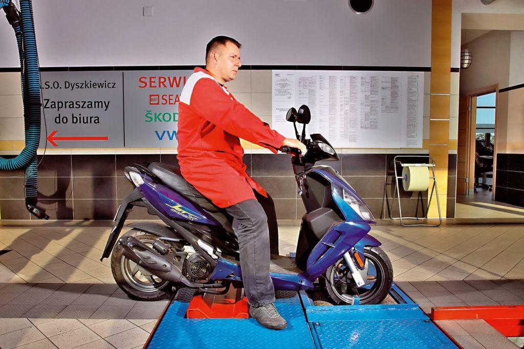 Przegląd motocykl
